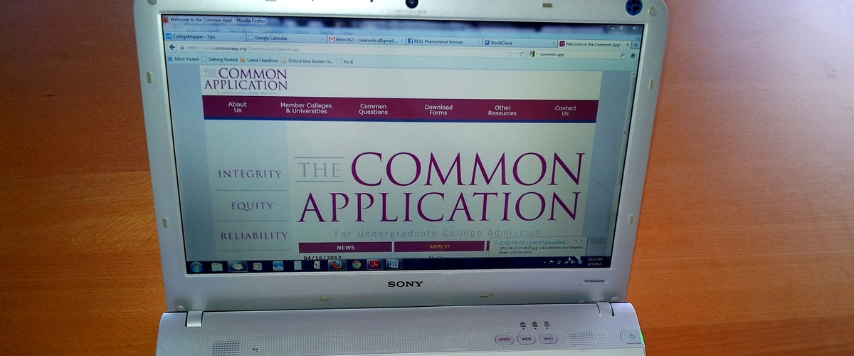 It's Peak College Application Time...Tackling the Common App!