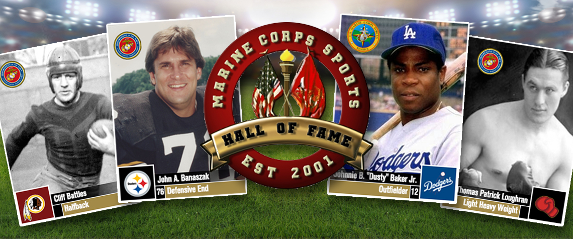 Sports Hall of Fame Inductees Honor Their Time in the Marines
